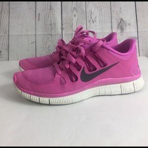 Nike free size 8.5 pink